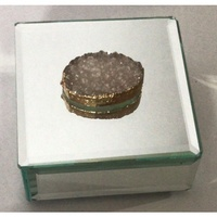 Hamptons Square Agate Mirror Box - Large (98R)