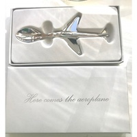 "Hamptons ""Here Comes The Airplane"" Spoon Gift (80BOX)"