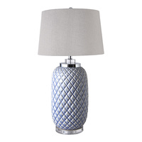 Hamptons Blue Pine Lamp DU0031