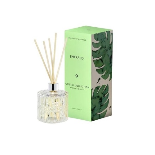 Mrs Darcy Emerald Crystal Diffuser